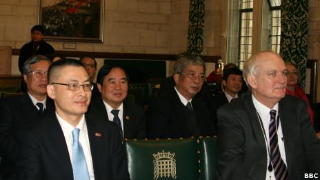 Buổi thảo luận diễn ra tại Điện Westminster, trụ sở Quốc hội Anh